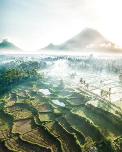 Ngỡ ngàng vẻ hoang sơ, tươi đẹp của các vùng đất châu Á từ trên cao - Ảnh 7.