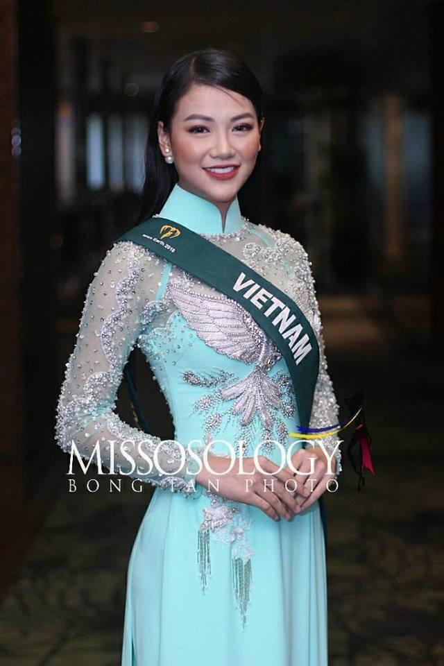 Hành trình đăng quang Hoa hậu Trái đất 2018 của Nguyễn Phương Khánh - Ảnh 2.