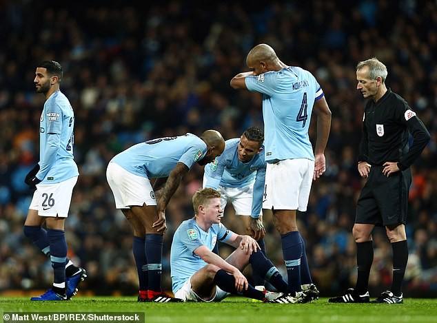 Man City lại nín thở, cầu chúc cho De Bruyne - Ảnh 1.