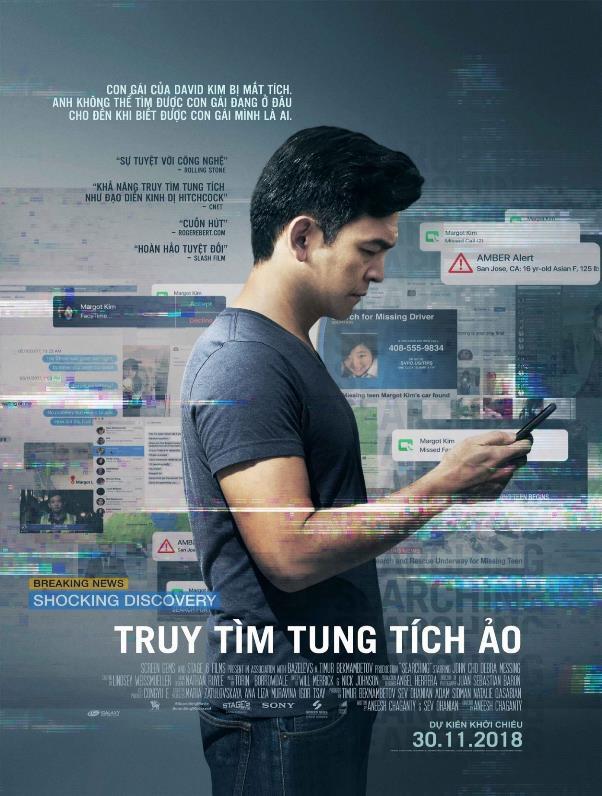 Searching - Tác phẩm xuất sắc nhận cơn mưa lời khen từ giới phê bình toàn cầu - Ảnh 1.