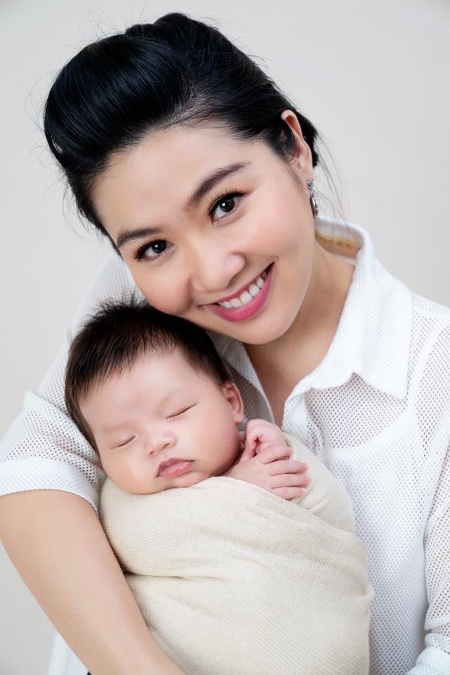 Những hình ảnh đáng yêu của quý tử nhà diễn viên Lê Khánh - Ảnh 7.