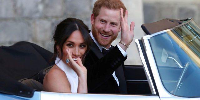 Vợ chồng Hoàng tử Harry rời Cung điện Kensington đến nơi ở mới trước sinh con - Ảnh 1.
