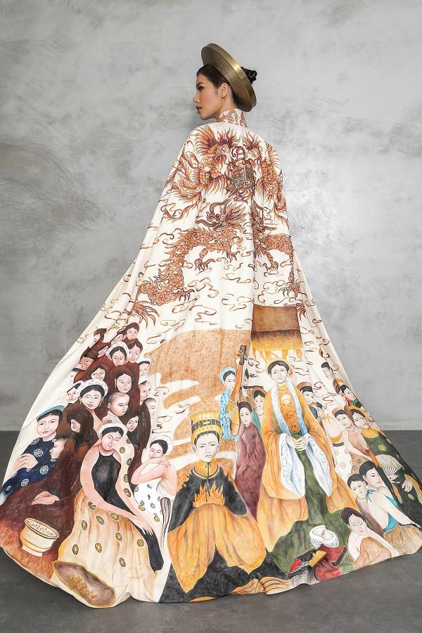 Minh Tú công bố quốc phục dự thi Miss Supranational - Ảnh 3.