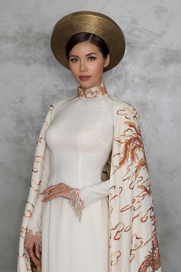 Minh Tú công bố quốc phục dự thi Miss Supranational - Ảnh 1.