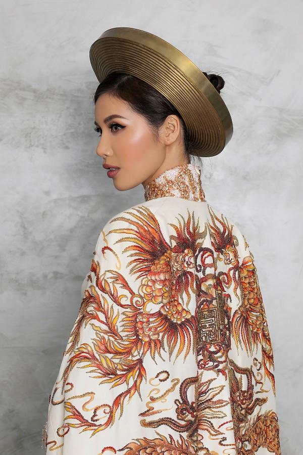 Minh Tú công bố quốc phục dự thi Miss Supranational - Ảnh 2.