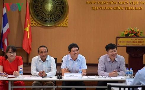 Đại sứ quán Việt Nam tại Thái Lan đối thoại với lưu học sinh - Ảnh 1.