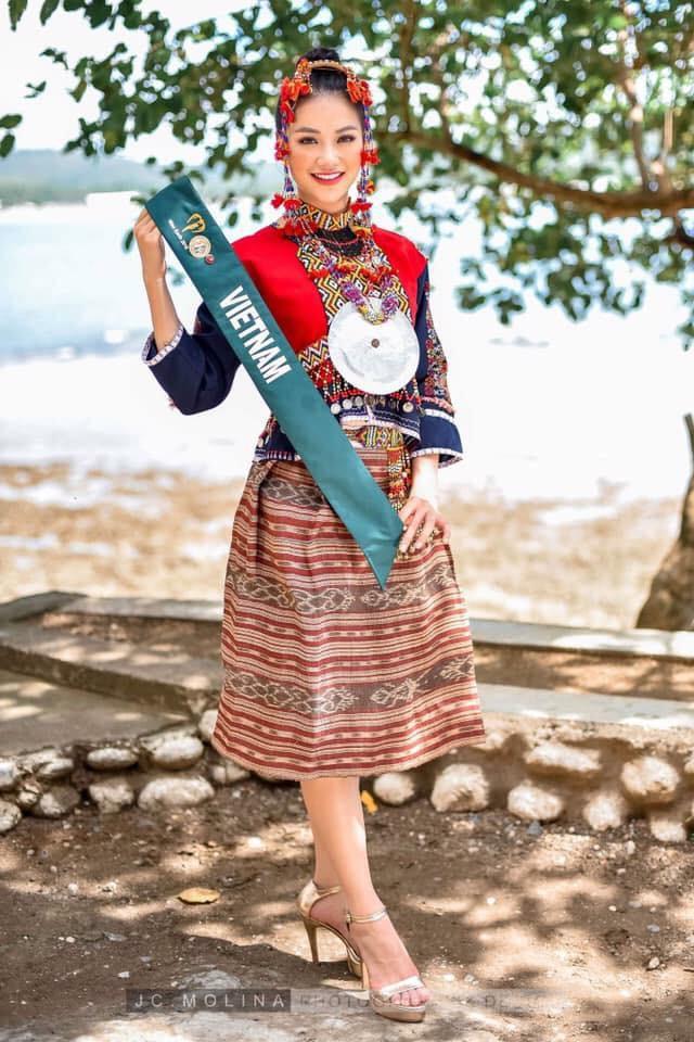 Hành trình đăng quang Hoa hậu Trái đất 2018 của Nguyễn Phương Khánh - Ảnh 1.