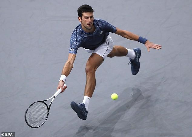 Thắng kịch tính Federer, Djokovic vào chung kết Paris Masters 2018 - Ảnh 2.