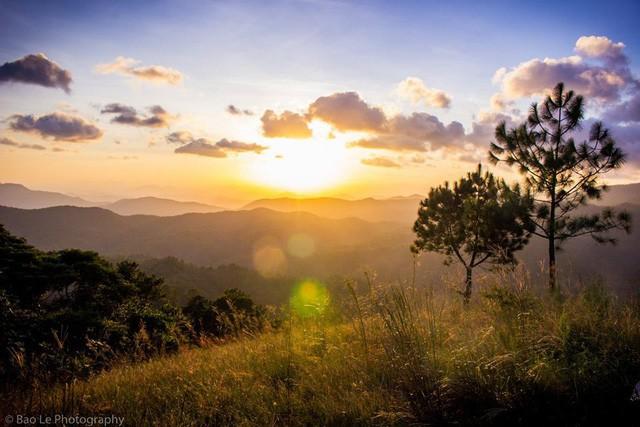 Những đồi cỏ xanh bạt ngàn trên cung đường trekking đẹp nhất Việt Nam - Ảnh 3.