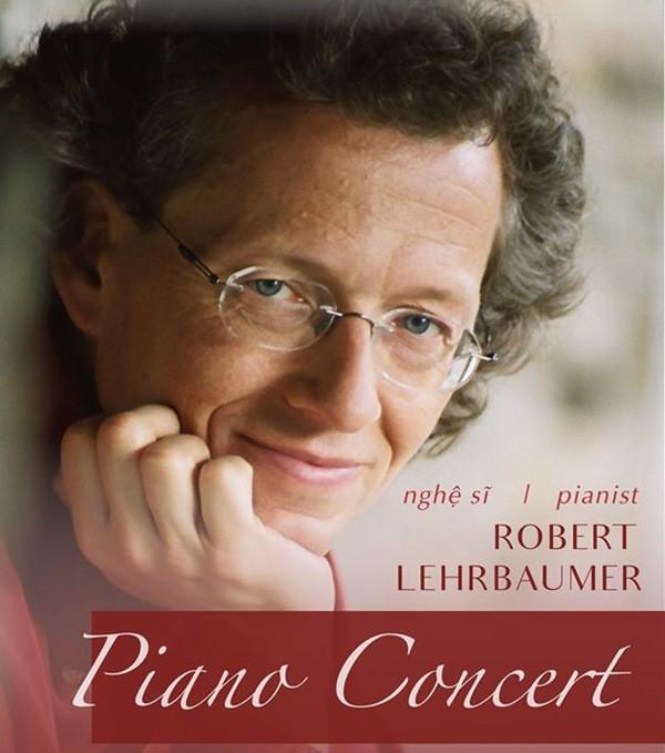 Nghệ sỹ dương cầm Robert Lehrbaumer mang âm nhạc nước Áo đến Việt Nam - Ảnh 1.