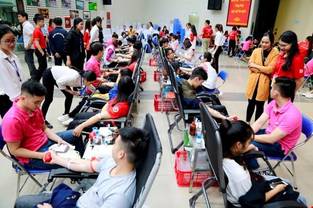 Ngày hội hiến máu Trái tim tình nguyện 2018 - Ảnh 1.