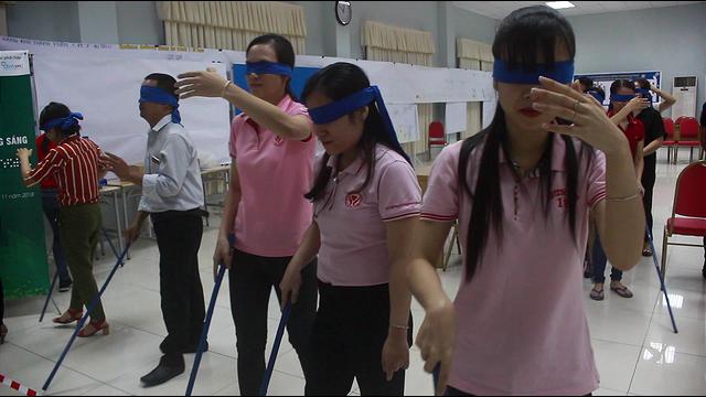 Khởi động Dự án Bảo vệ, chăm sóc mắt và hỗ trợ người khiếm thị - Khát vọng sáng - Ảnh 1.