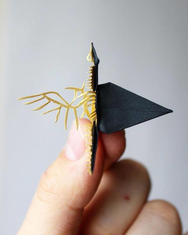 Mê mẩn ngắm những kiệt tác hạc giấy của nghệ thuật gấp giấy Origami - Ảnh 15.