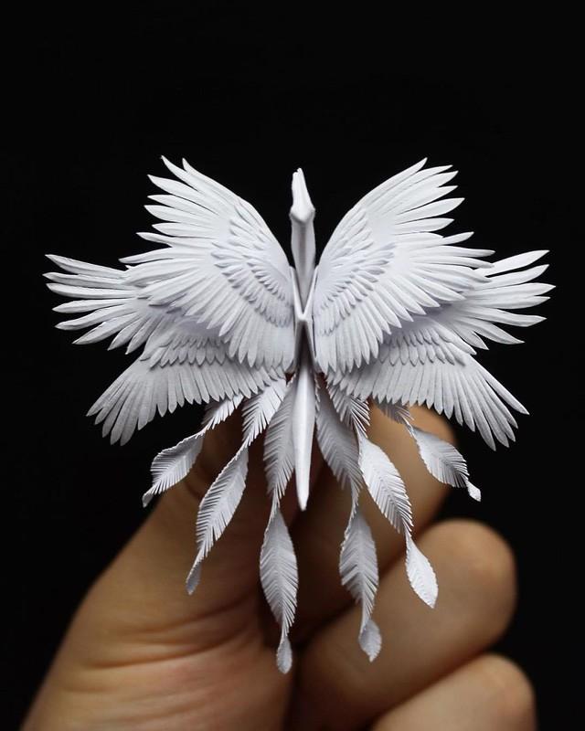 Mê mẩn ngắm những kiệt tác hạc giấy của nghệ thuật gấp giấy Origami - Ảnh 22.