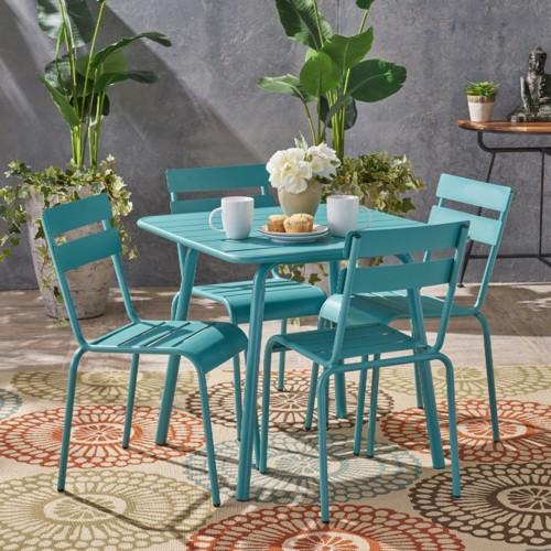Bàn ghế ăn dành cho khu vực sân vườn - Ảnh 7.