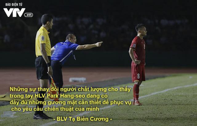 AFF Cup 2018: BLV VTV và những câu nói đi vào lòng người trong chiến thắng của ĐT Việt Nam - Ảnh 7.