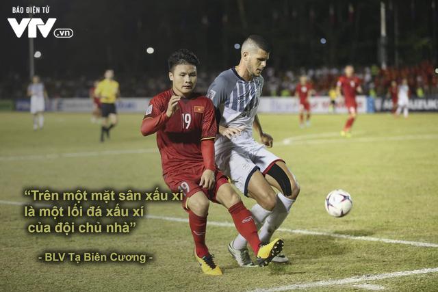 AFF Cup 2018: BLV VTV và những câu nói đi vào lòng người trong chiến thắng của ĐT Việt Nam - Ảnh 1.