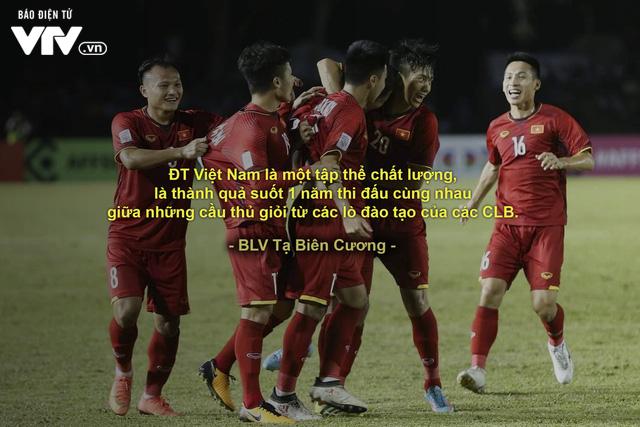 AFF Cup 2018: BLV VTV và những câu nói đi vào lòng người trong chiến thắng của ĐT Việt Nam - Ảnh 2.