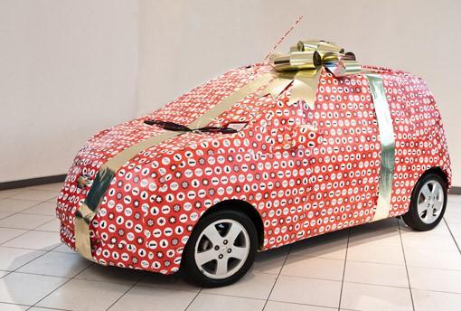 Ô tô cho tới xe tăng hóa tuần lộc, ông già Noel dịp Giáng sinh - Ảnh 1.