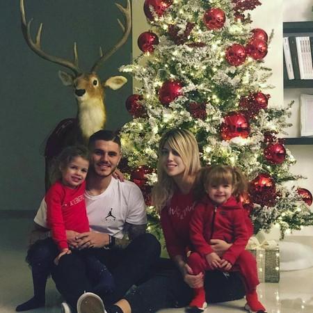 Các ngôi sao bóng đá thế giới tưng bừng đón Giáng sinh - Ảnh 7.