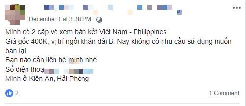 Trước thềm trận Việt Nam - Philippines: Vé sốt đỉnh điểm, cao gấp 6 - 7 lần giá trị thật - Ảnh 3.