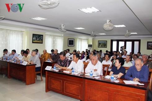 Xây dựng cộng đồng người Việt Nam tại Lào đoàn kết, vững mạnh và hội nhập - Ảnh 1.