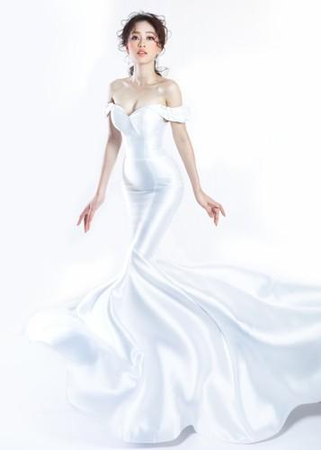 Á hậu Phương Nga hóa cô dâu xinh đẹp, lộng lẫy - Ảnh 5.