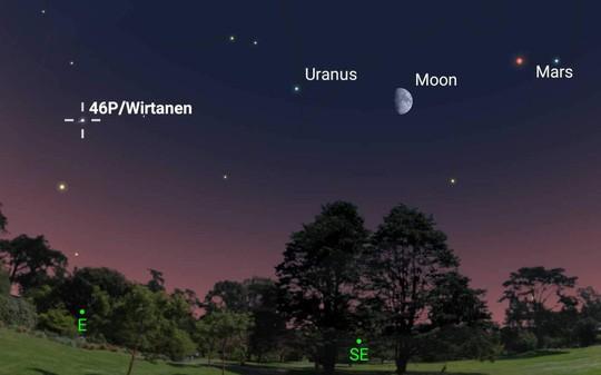 Sao chổi xanh sáng nhất tiến về phía Trái đất - ảnh 1