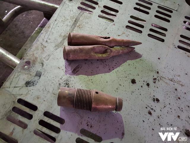 Vụ nổ ở Bắc Ninh: Phát hiện thêm viên đạn kích thước 15.5 cm ở một kho khác - Ảnh 4.