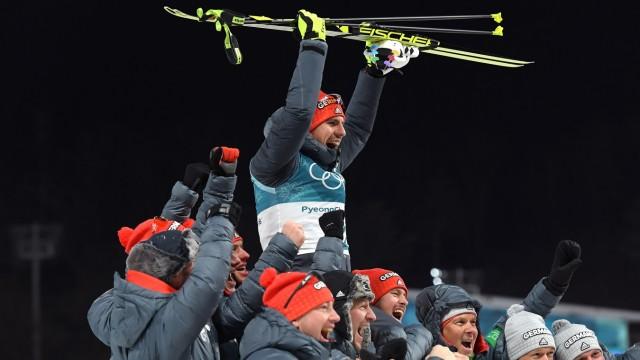 Bảng tổng sắp huy chương Olympic mùa đông PyeongChang 2018: Đoàn Thể thao Đức tiếp tục duy trì vị trí dẫn đầu - Ảnh 1.