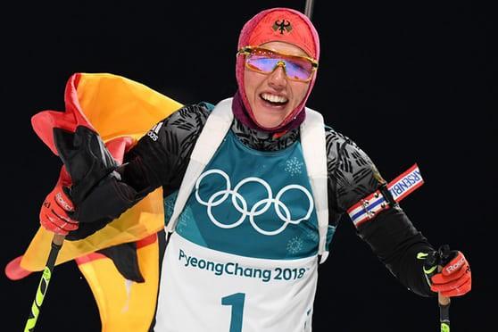 Bảng tổng sắp huy chương Olympic mùa đông PyeongChang 2018: Đoàn Thể thao Đức tiếp tục duy trì vị trí dẫn đầu - Ảnh 2.