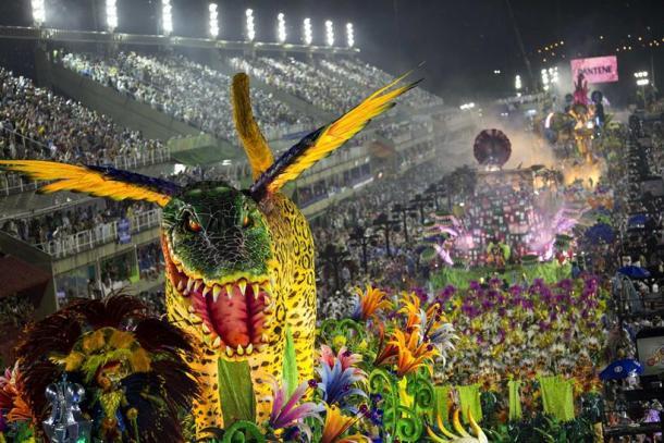 Tưng bừng lễ hội Carnival tại Brazil - Ảnh 2.