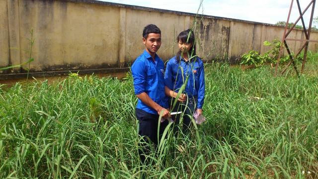 Ba thế hệ học sinh dân tộc thiểu số chế tạo sản phẩm từ cây dại trong vườn - Ảnh 1.
