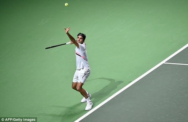 Roger Federer bước lên vị trí số 1 thế giới - Ảnh 1.