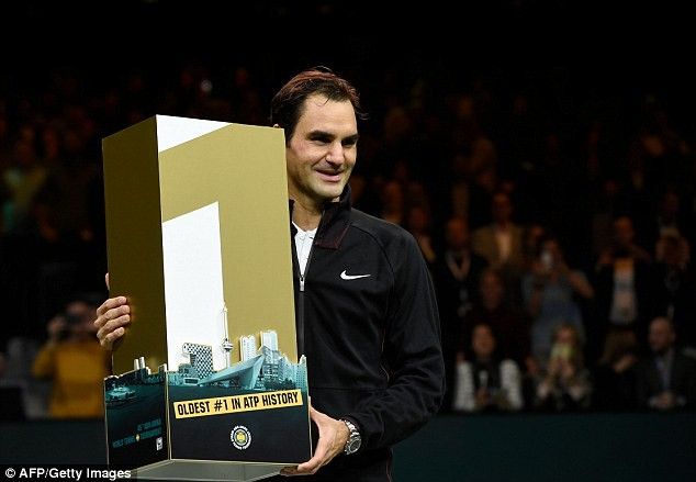 Roger Federer bước lên vị trí số 1 thế giới - Ảnh 2.