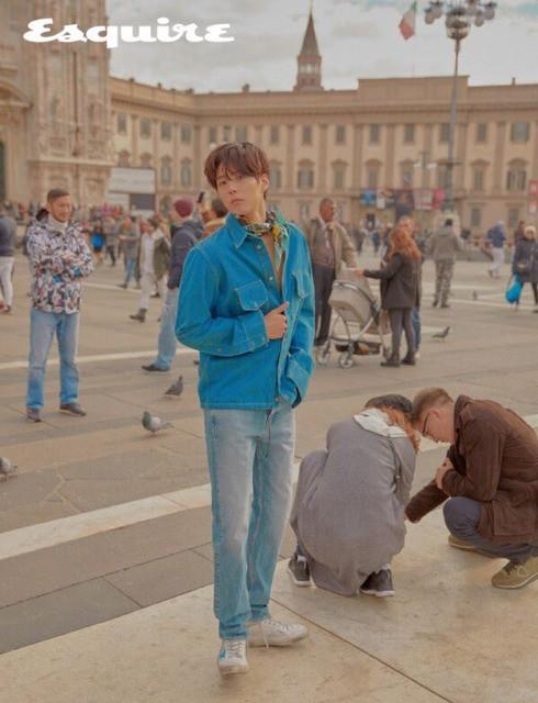 Park Bo Gum bụi bặm du ngoạn nước Ý - Ảnh 5.