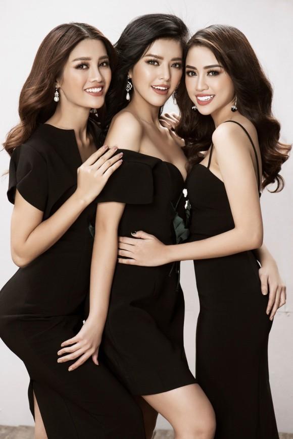 Hội chị em The Face nổi bật trong trang phục đen trắng - Ảnh 5.