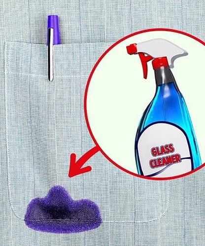 Mẹo làm sạch vết bẩn trên quần áo đơn giản chỉ trong tích tắc - Ảnh 3.