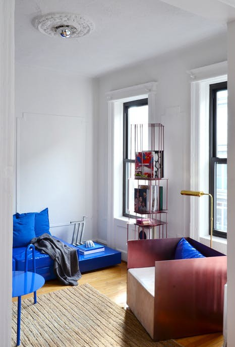 Tô điểm màu xanh cho căn hộ thêm phần nổi bật - Ảnh 4.