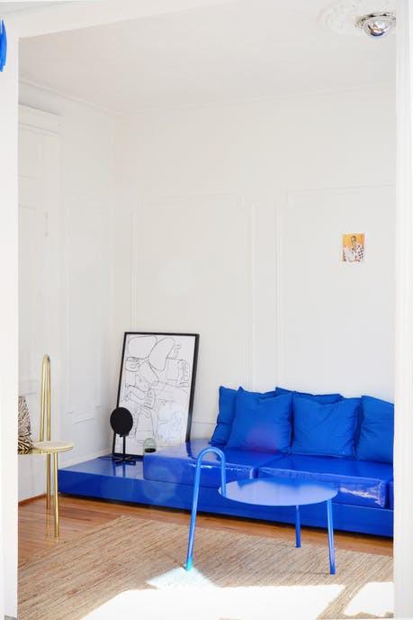 Tô điểm màu xanh cho căn hộ thêm phần nổi bật - Ảnh 13.