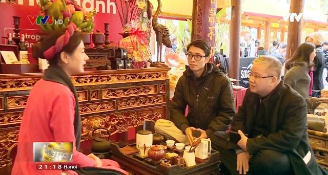 Chợ Tết Việt phong cách Hà thành những năm đầu thế kỷ 20 - Ảnh 1.
