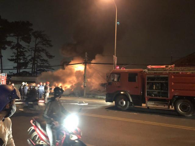 Cháy biệt thự ở trung tâm thành phố Đà Lạt, 5 người tử vong - Ảnh 1.