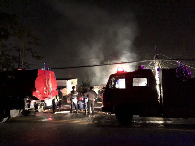 Cháy biệt thự ở trung tâm thành phố Đà Lạt, 5 người tử vong - Ảnh 3.