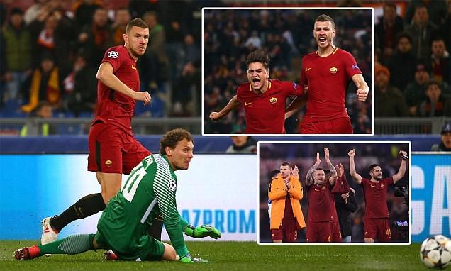 Kết quả Champions League sáng 14/3: Thua Sevilla, Man Utd bị loại, AS Roma vào tứ kết - Ảnh 2.