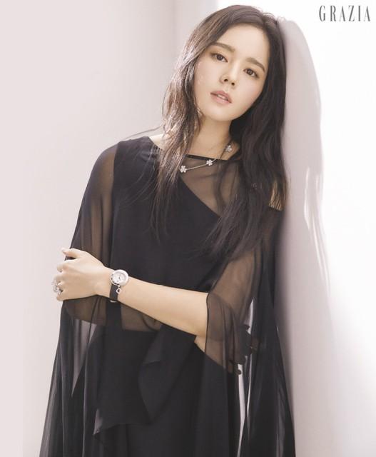 Han Ga In đẹp không góc chết trong loạt ảnh mới - Ảnh 4.