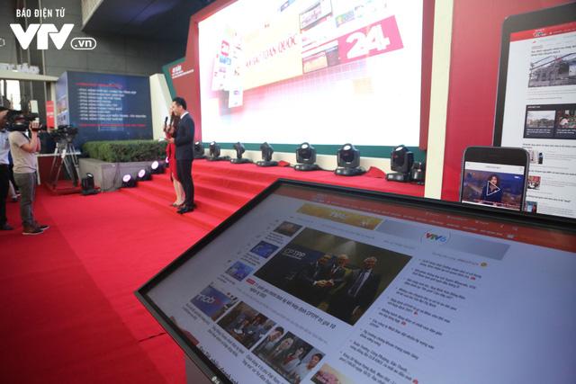 Gian trưng bày của VTV tại Hội Báo toàn quốc 2018 thu hút khán giả với công nghệ thời 4.0 - Ảnh 7.