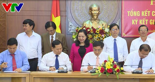 Các tỉnh duyên hải miền Trung ký kết giao ước thi đua năm 2018 - Ảnh 1.