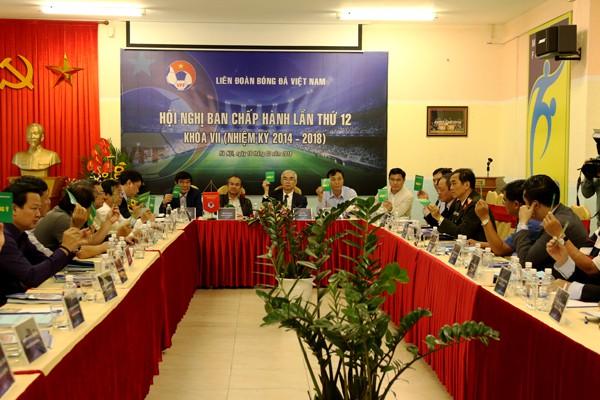 Hội nghị BCH VFF thảo luận về công tác chuẩn bị nhân sự Đại hội khóa VIII - Ảnh 3.