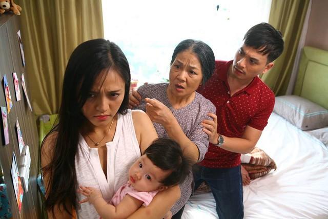 Những nàng dâu trên phim truyền hình Việt - Người ngoan hiền, cam chịu, kẻ đành hanh, tai quái - Ảnh 2.