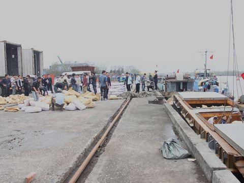 Thu giữ gần 200 tấn thịt trâu không rõ nguồn gốc nhập lậu bằng đường biển - Ảnh 1.